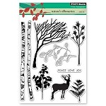 Penny Black - Clear Stamp - Nature's Silhouettes