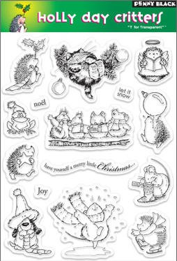 Penny Black-Clear Stamp-Holly Day Critters