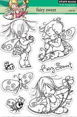 Penny Black Clear Stamp - Fairy Sweet