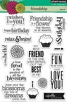 Penny Black Clear Stamp - Friendship