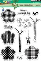 Penny Black Clear Stamp - Tree-Mendous