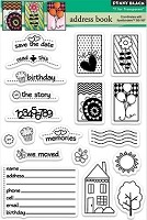 Penny Black Clear Stamp - Address Book