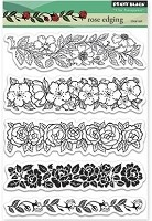 Penny Black - Clear Stamp - Rose Edging