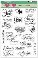 Penny Black - Clear Stamp - From The Heart
