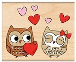Penny Black - Wood Mounted Stamp - Owl Always Love You