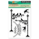 Penny Black - Clear Stamp - Tweeting Love