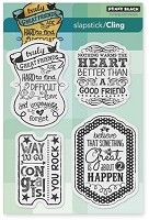 Penny Black - Slapsticks - Cling Stamp - Truly Great