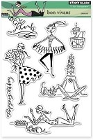 Penny Black - Clear Stamp - Bon Vivant