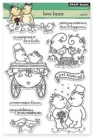 Penny Black - Clear Stamp - Love Bears