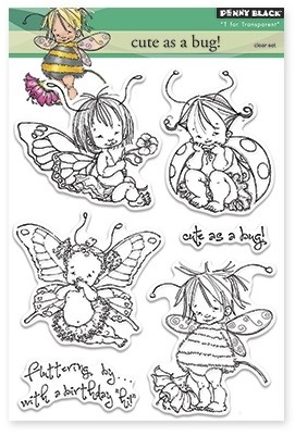 Penny Black - Clear Stamp - Cute As A Bug