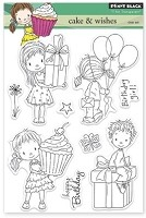 Penny Black - Clear Stamp - Cake and Wishes