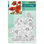 Penny Black - Slapstick Cling Stamp - Poppy Gems