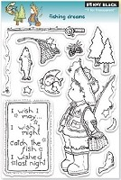 Penny Black - Clear Stamp - Fishing Dreams