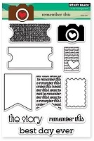 Penny Black - Clear Stamp - Remember This