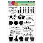 Penny Black - Clear Stamp - A Sweet Day