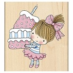 Penny Black - Wood mounted rubber stamp - Cupcake Mimi