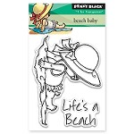Penny Black - Clear Stamp - Beach Baby