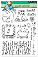Penny Black - Clear Stamp - Sweet Beginnings