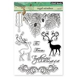Penny Black - Clear Stamp - Regal Reindeer