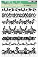 Penny Black - Clear Stamp - Lace Trims