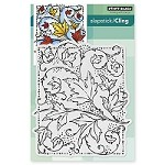 Penny Black - Slapstick Cling Stamp - Autumn Dance