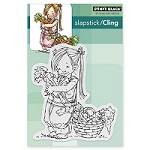 Penny Black - Slapstick Cling Stamp - Carrot Collector