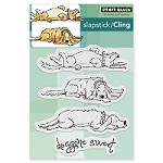 Penny Black - Slapstick Cling Stamp - Doggone Sweet