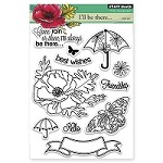 Penny Black - Clear Stamp - Come Rain or Shine