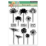 Penny Black - Clear Stamp - Flower Sparks