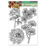 Penny Black - Clear Stamp - Efflorescence