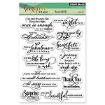 Penny Black - Clear Stamp - Heartfelt