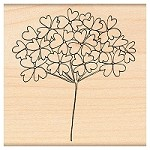 Penny Black Wood Stamp - Sweet Buds
