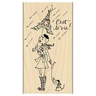 Penny Black - Wood mounted rubber stamp - C'est la Vie