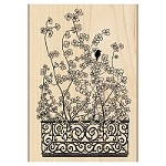 Penny Black - Wood mounted rubber stamp - Amongst Blooms