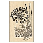 Penny Black - Wood mounted rubber stamp - Elated