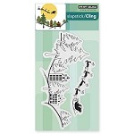 Penny Black - Slapstick Cling Stamp - Snow Dasher