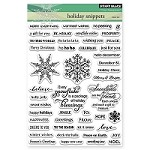 Penny Black - Clear Stamp - Holiday Snippets