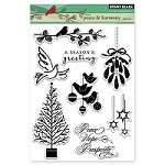 Penny Black - Clear Stamp - Peace & Harmony