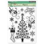 Penny Black - Clear Stamp - Filigrees