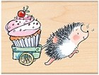 Penny Black Wood Stamp - Prize Cupcake