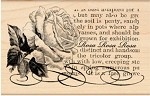 Penny Black Wood Stamp - Rosa