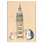 Penny Black - Wood Stamps - Big Ben