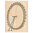 Penny Black - Wood Stamps - The London Eye