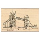 Penny Black - Wood Stamps - The Tower Bridge