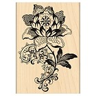 Penny Black - Wood Stamps - Lace Flower