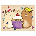 Penny Black - Wood Stamps - Party Critters