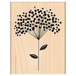 Penny Black Wood Stamp - Polka-Dot Sprig