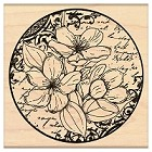 Penny Black Wood Stamp - Flower Poetry