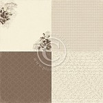 "Pion Design - My Beloved Son Collection - 12""x12"" Single Sided Cardstock - 6x Anemone"