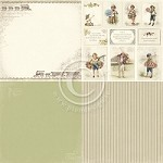 "Pion Design - My Beloved Son Collection - 12""x12"" Single Sided Cardstock - 6x Martin's Train"